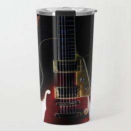 Burning Rock Guitar Travel Mug