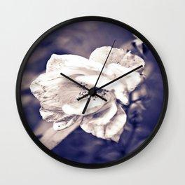 Depot Flower in Purple Wall Clock