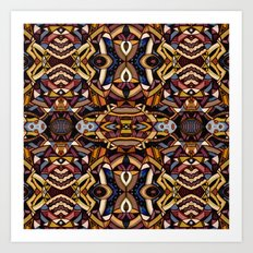 Angle Land Extrapolated Art Print