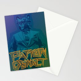 Patton Oswalt Grumpus Poster (Seattle) Stationery Cards