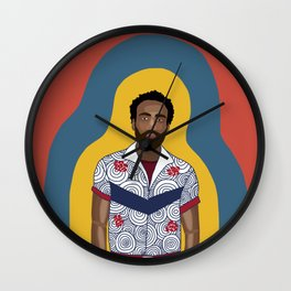 The One and Only Childish Gambino Wall Clock