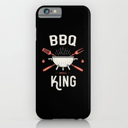 BBQ Barbecue King iPhone Case