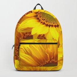 Yellow Mellow Sunflower Bouquet #decor #society6 #buyart Backpack