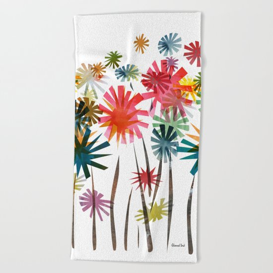 Spring Time Beach Towel