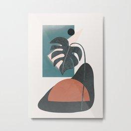 Abstract Shapes 09 Metal Print