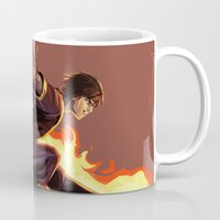 zuko Mugs featuring Fight Fire With Fire by Junryou