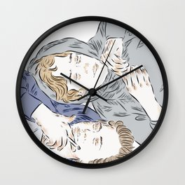 Isak  Even Wall Clock