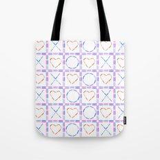Hearts XOX Tote Bag