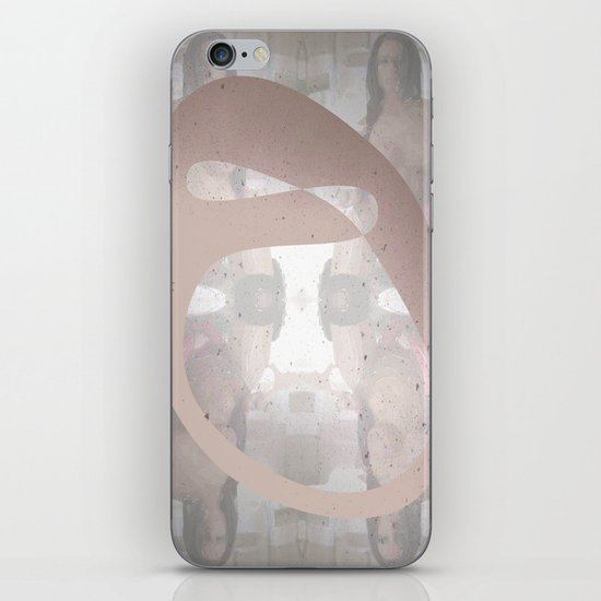 Sexz mask iPhone Skin