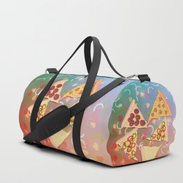 Pizza (A Reverie) Duffle Bag