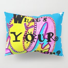 What's Your Sign? ASL FUN Pillow Sham