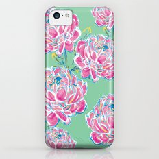 Peony : Mint iPhone 5c Slim Case