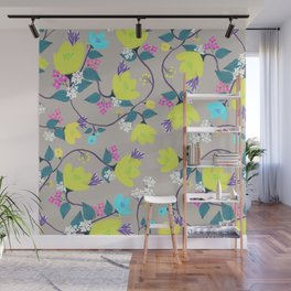 flowers 3 Wall Mural