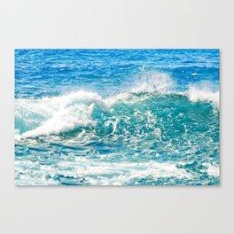Kashmir Blue Sapphire Canvas Print