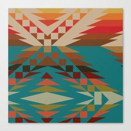 American Native Pattern No. 81 Canvas Print