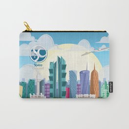Space Up Carry-All Pouch