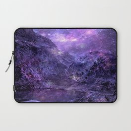 Space Mountains Laptop Sleeve