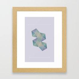 Light Stones  Framed Art Print