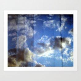 Cloud Curtain Art Print