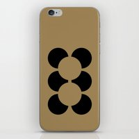 teddy bear iPhone & iPod Skins featuring TEDDY BEAR by THE USUAL DESIGNERS