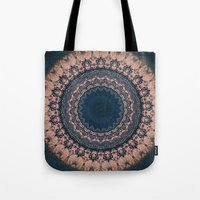 boho Tote Bags featuring Boho by Jane Lacey Smith