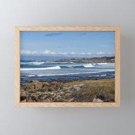 Pebble Beach Landscape Framed Mini Art Print