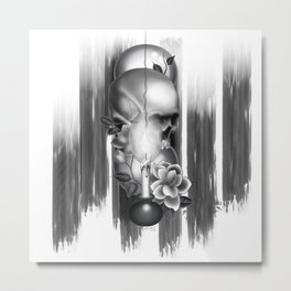 Momento Mori Metal Print