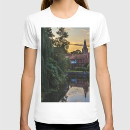 Early Evening Whitchurch on Thames T-shirt