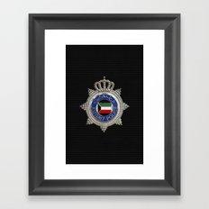 Ministry of interior - Kuwait Framed Art Print