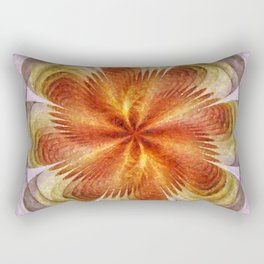 Senores Au Naturel Flower  ID:16165-061704-49220 Rectangular Pillow