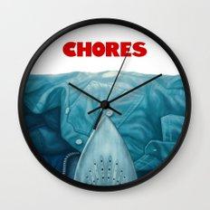 Chores (2015 version) Wall Clock