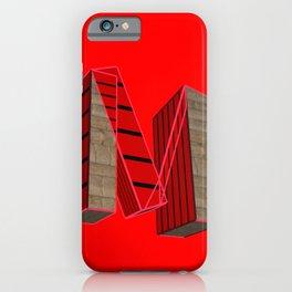 Letter M / Lettering Fancy Art iPhone Case