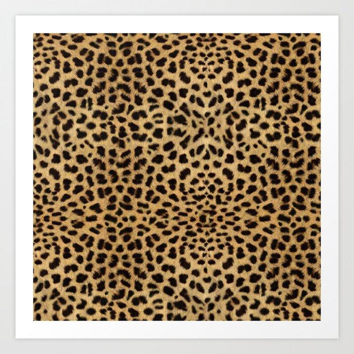 Cheetah Print Kunstdrucke