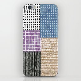 Primavera Mixed Pattern iPhone Skin