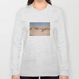 Michelangelo's Creation Long Sleeve T-shirt