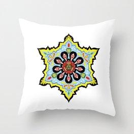 Alright linda belcher mandala kaleidoscope Throw Pillow