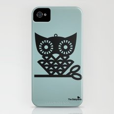 Blue Hoot Slim Case iPhone (4, 4s)