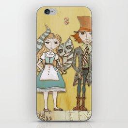 How Strange It Is - Alice in Wonderland iPhone Skin