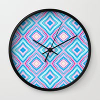 lucy Wall Clocks featuring Lucy by Jacqueline Maldonado