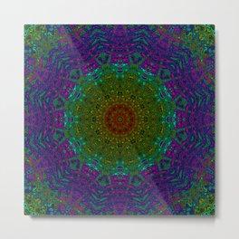 Rainbow Kaleidoscope 4 Metal Print