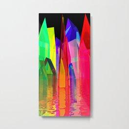 colorful village -2- Metal Print