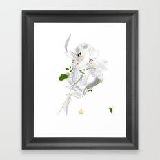 Royal Swan Framed Art Print