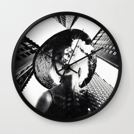 Low angles ... Wall Clock