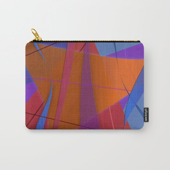 Abstract #430 Sailing Carry-All Pouch