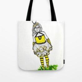 The BumbleBee Girl  Tote Bag