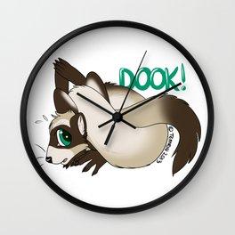 Dook! Wall Clock