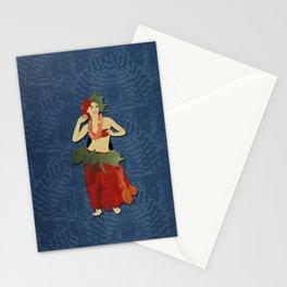 Polynesian Dancer Stationery Cards