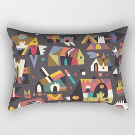 Schema 15 Rectangular Pillow