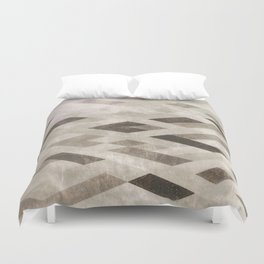 Abstract Pattern in Subtle Duvet Cover