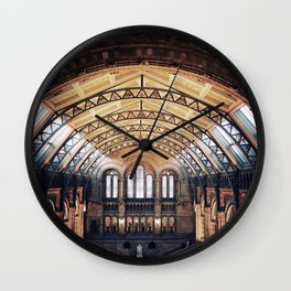 London Natural History Museum  Wall Clock